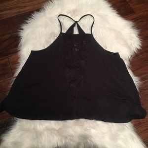 AEO Soft & Sexy Swing Tank Top Shirt Loose Fit